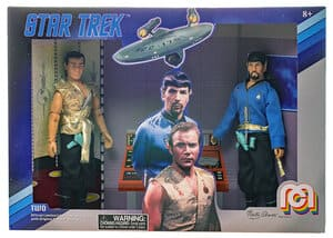 Mirror Mirror Kirk and Spock Limited Edition Collectors Box Set Star Trek