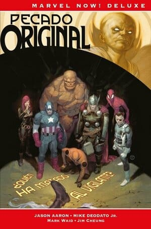 Portada Pecado Original Marvel Now! Deluxe de Panini Cómics